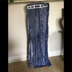 Long tight skirt